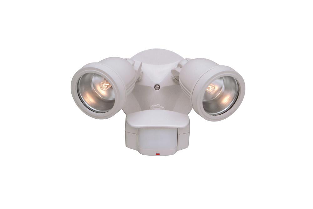 DEF PH218S-06 2-100W HAL WH FLOODS (LAMPS INC.) W/MOT SENSOR