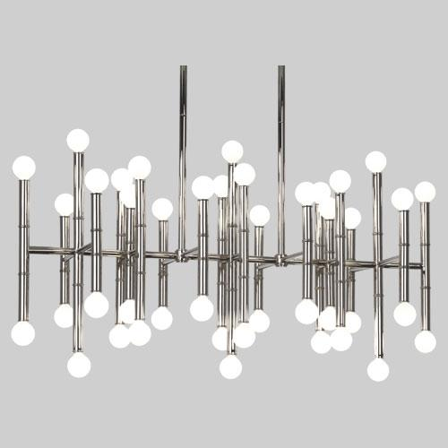 ROA S687 JONATHAN ADLER MEURICE CHANDELIER 42X25 G16.5 Candelabra lamp not included