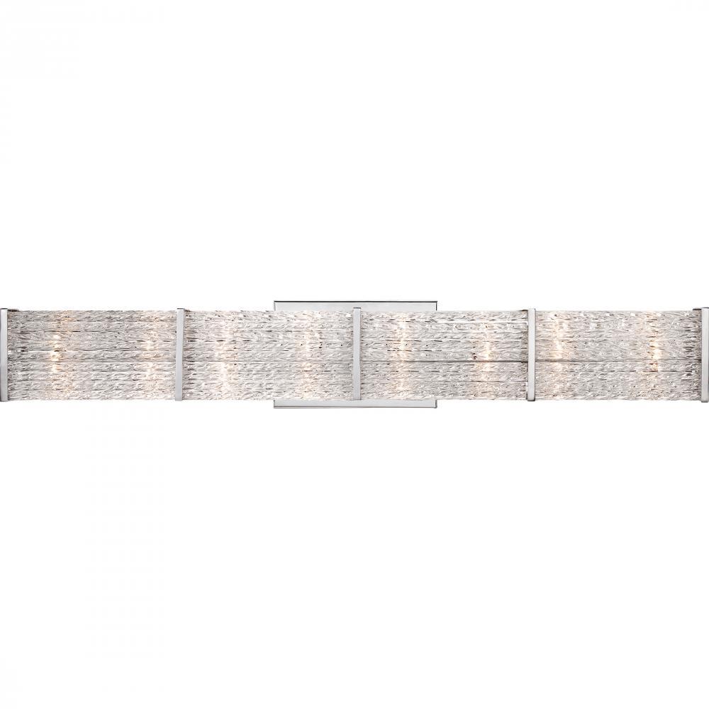 QUO PRN8608C Paragon Bath Fixture (8xG4 Xenon Inc) polish chrome