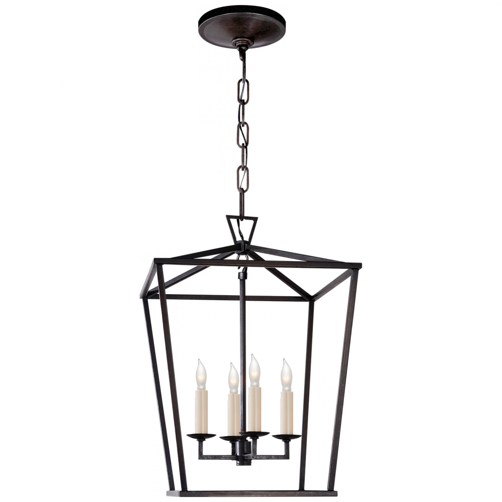 VCO CHC2164AI Darlana Small Lantern in Aged Iron 4X