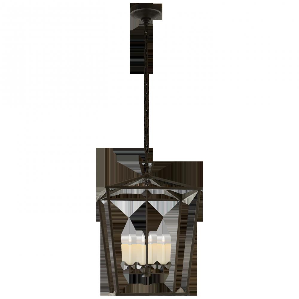 Visual Comfort CHC2165AI Darlana MediumüLantern in Aged Iron 4X60C