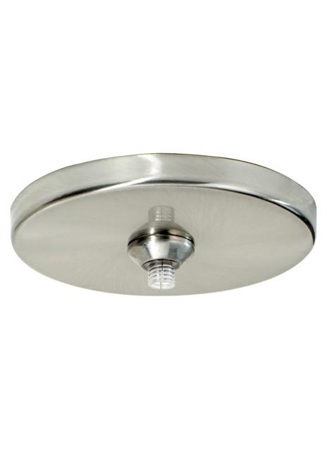 "TEC 700FJ4RFS FJ-4IN FreeJack 4"" Round Flush Canopy Round Satin Nickel"