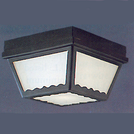 THO SL7597 2X60M Outdoor Ceiling Black * RED TAG ITEM *