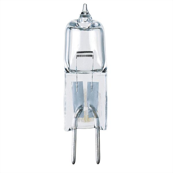 ABC 04444 20W T3 JC HALOGEN LOW VOLTAGE CLEAR GY6.35 BASE, 12V CS=10 formerly: SUP 14851 syl 58661