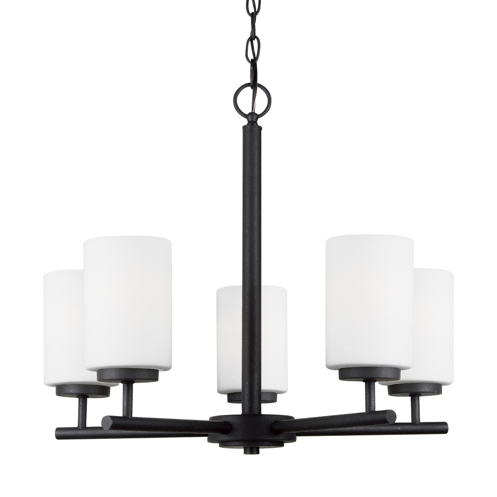 SEA 31161-839 5X100M Oslo Blacksmith Chandelier