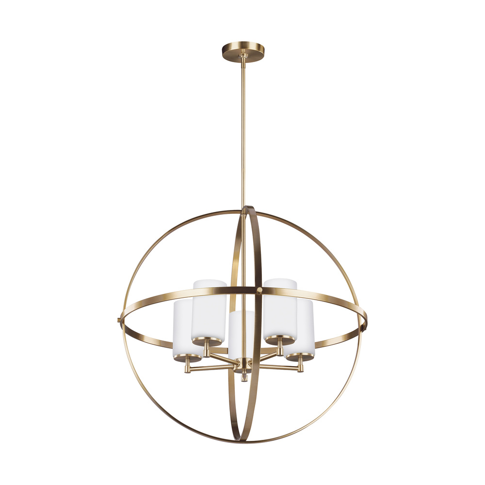 SEA 3124605-848 Five Light Chandelier 5X100A19