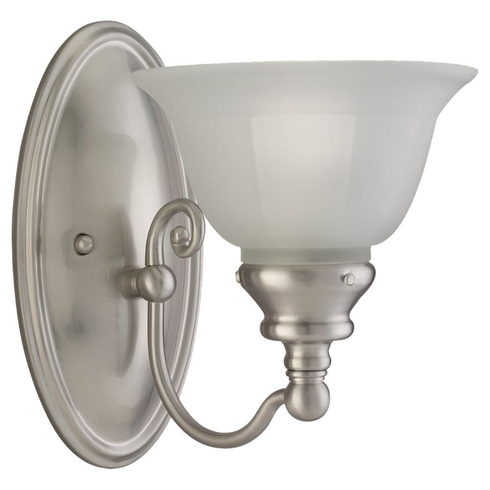 SEA 49650BLE-962 1X13W WALL SCONCE BRUSHED NICKEL (13W GU24 INCL.) ** *** RED TAG ITEM ***