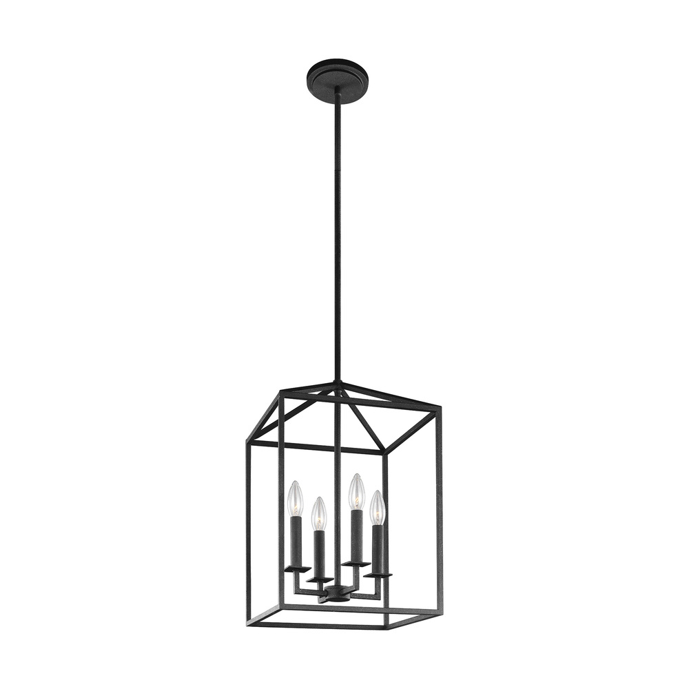 SEA 5215004-839 4X60C Perryton Blacksmith Hall/Foyer Pendant