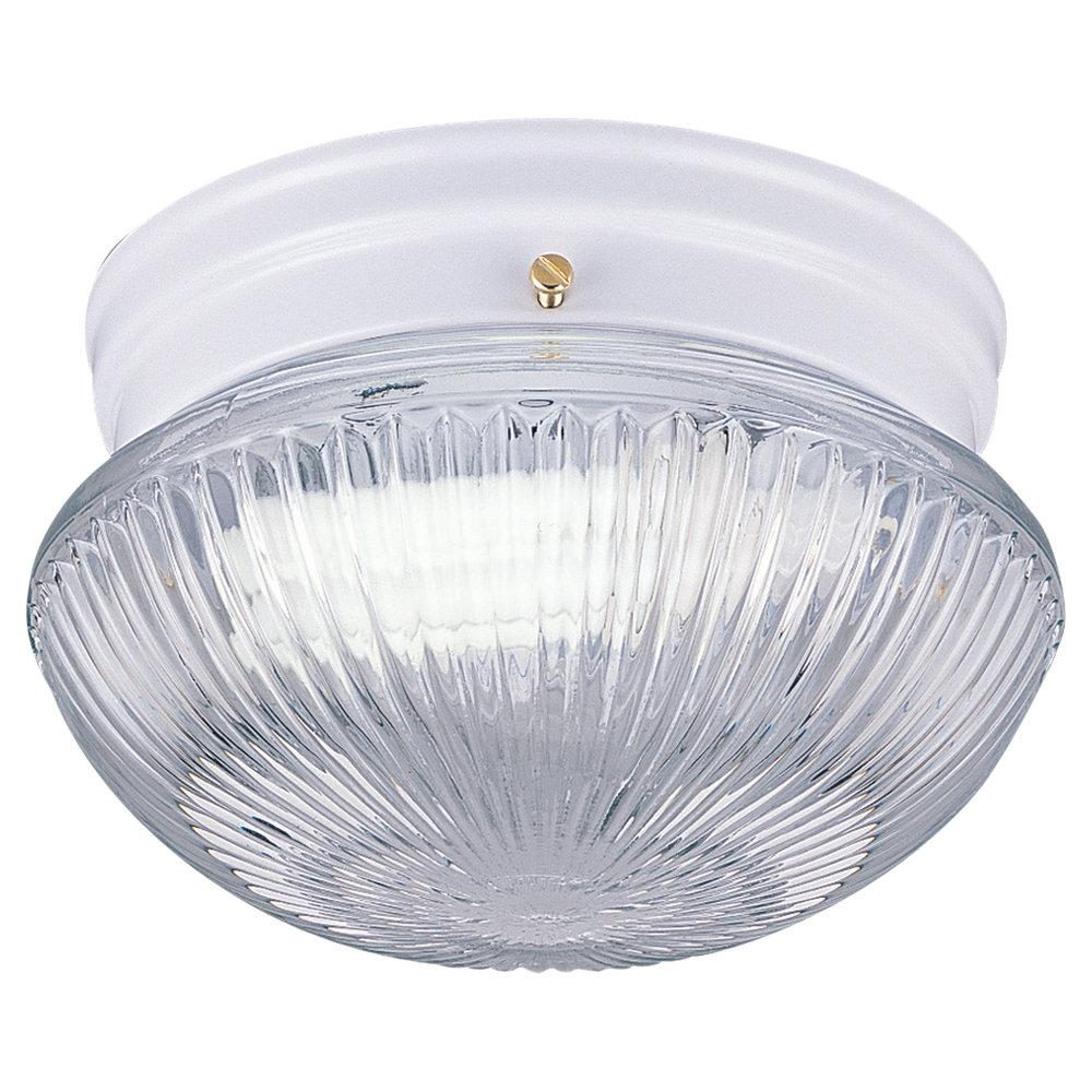 SEA 5940BLE-15 2-13W CEILING WHITE (CFL INCL.) ^^** * RED TAG ITEM *