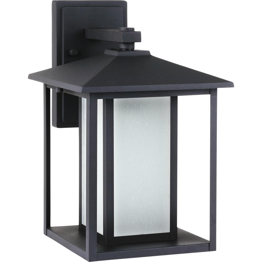SEA 89031BLE-12 1X26GU24 Black Fluorescent Hunnington Outdoor Wall Lantern *** RED TAG ITEM ***