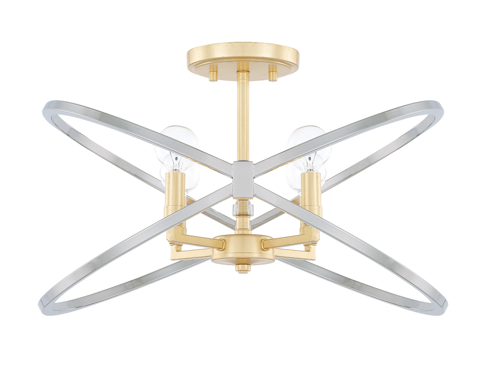 Capital Lighting 220841FI Fire & Ice 4Lt