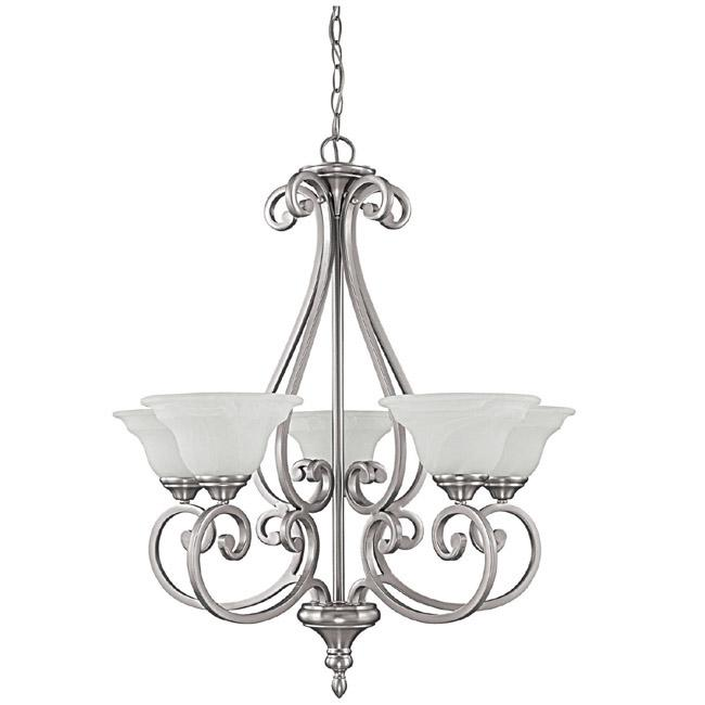 CPL 3075MN-222 5 Light Chandelier 5X100Medium