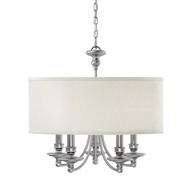 CPL 3915MN-455 5 Light Chandelier 5X60C