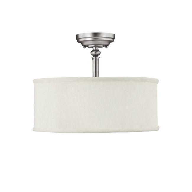 CPL 3923MN-480 3 Light Semi-Flush Fixture 3X60M