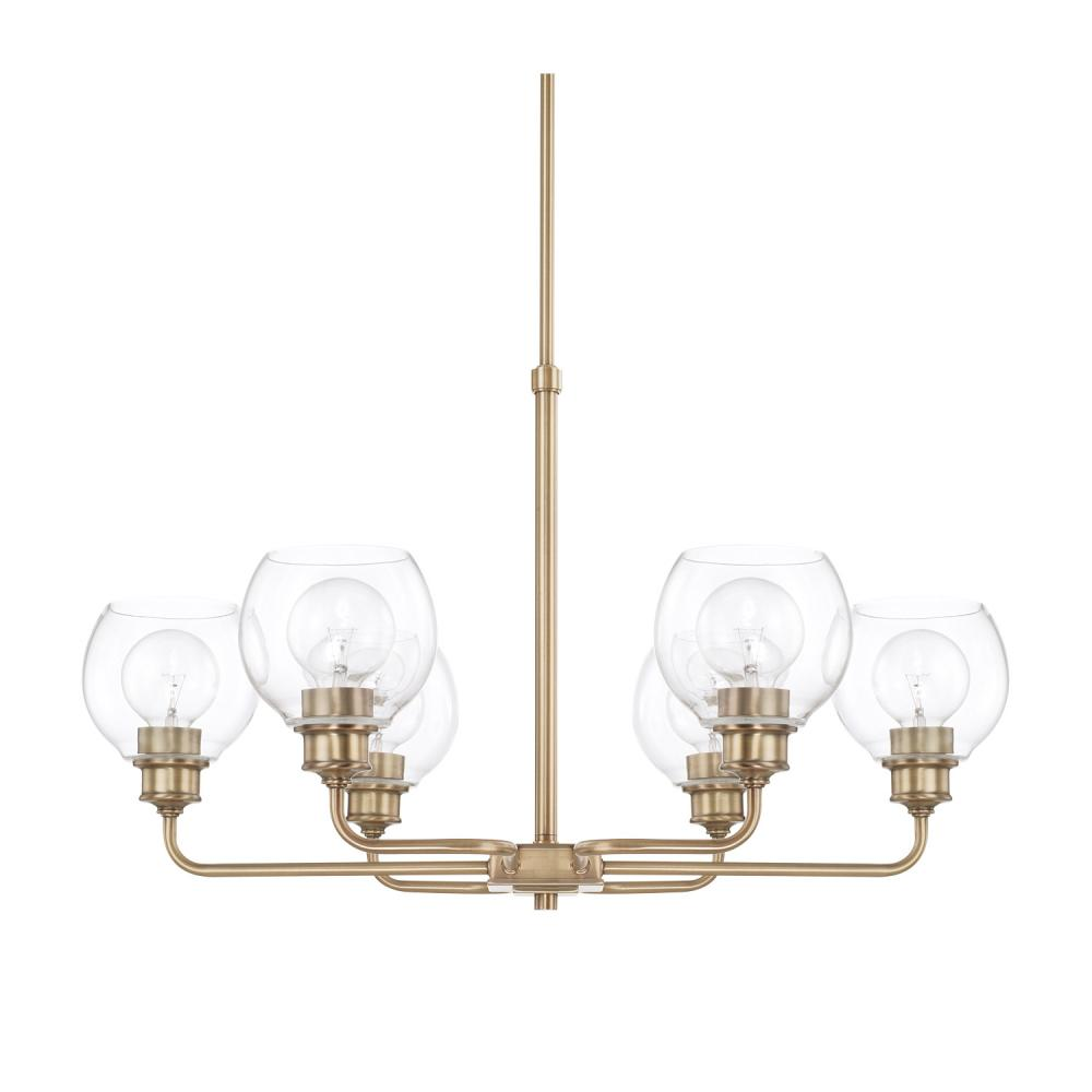 CPL 421161AD-426 6 Light Chandelier 6X100Medium