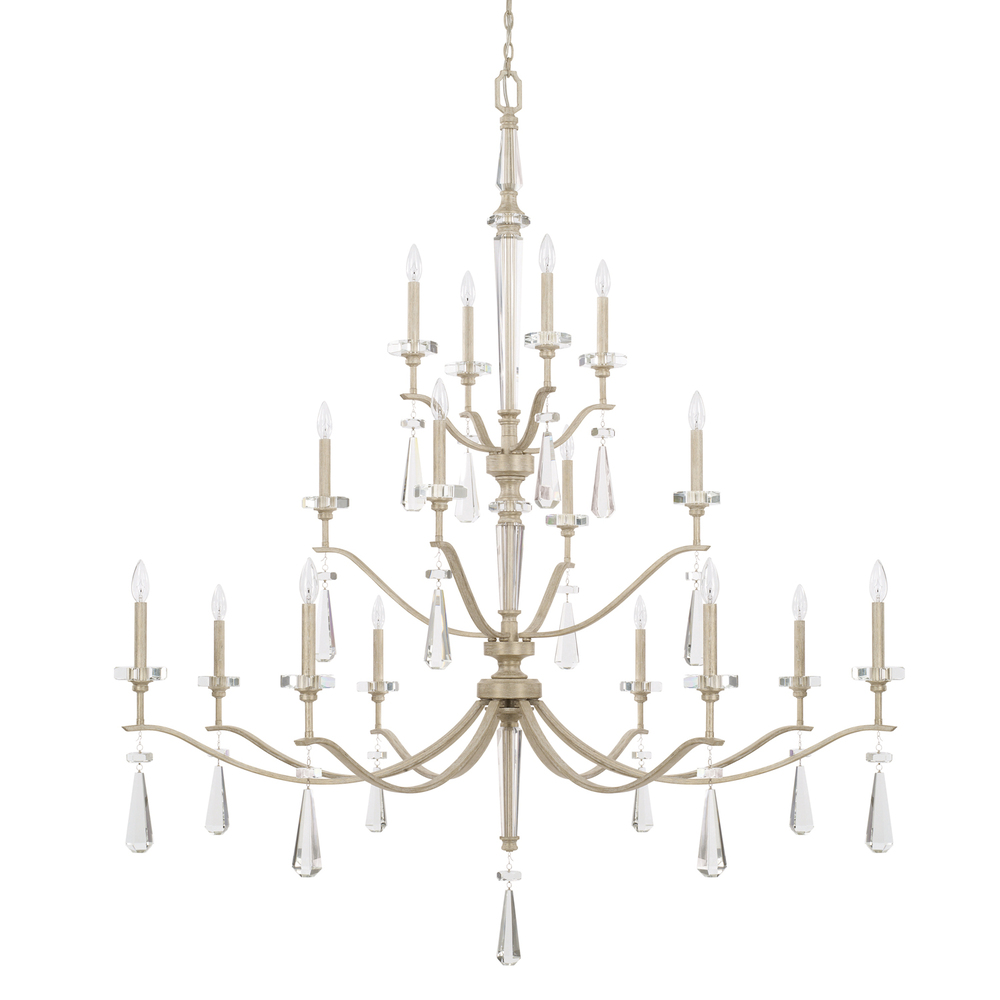16 Light Chandelier