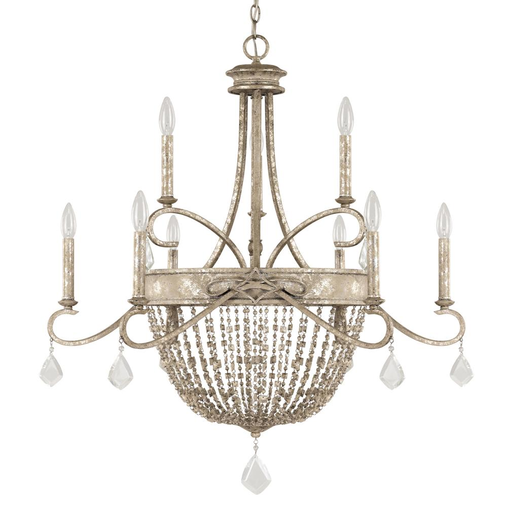 CPL 4289SQ-000-PC 9 Light Chandelier 9X60C