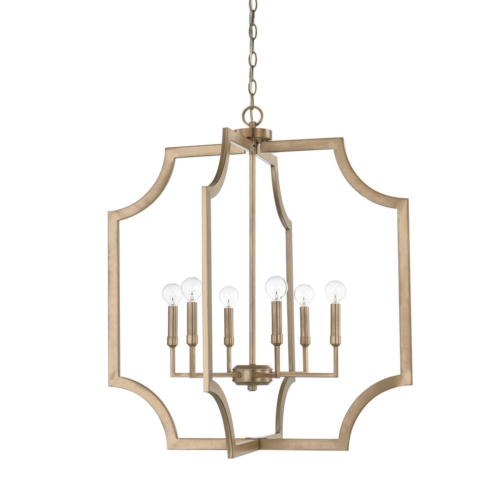 CPL 526161AD 6 Light Foyer 60CAC/CL