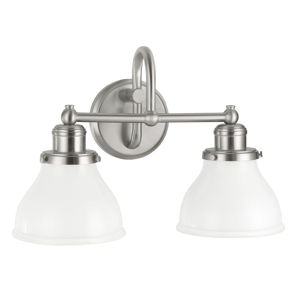 Capital Lighting 8302BN-128 2X100M Brushed