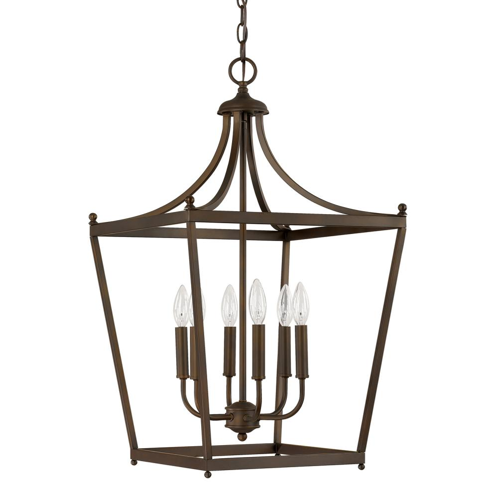 CPL 9552BB 6 Light Foyer 6X60C