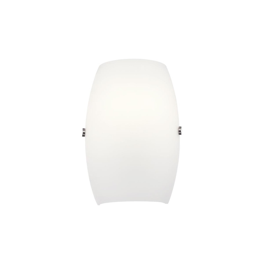 EUR 7279-25 VITA 1LT WALL SCONCE OPAL/CHROME 60W LAMP NOT INCLUDED