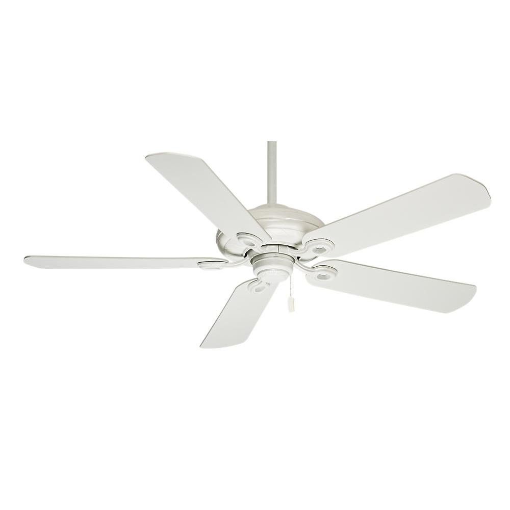 CAS 54028 CEILING FAN MOTOR OUTDOOR SNOW WHITE CAPISTRANO BLADES SOLD SEPARATELY SEE 99001