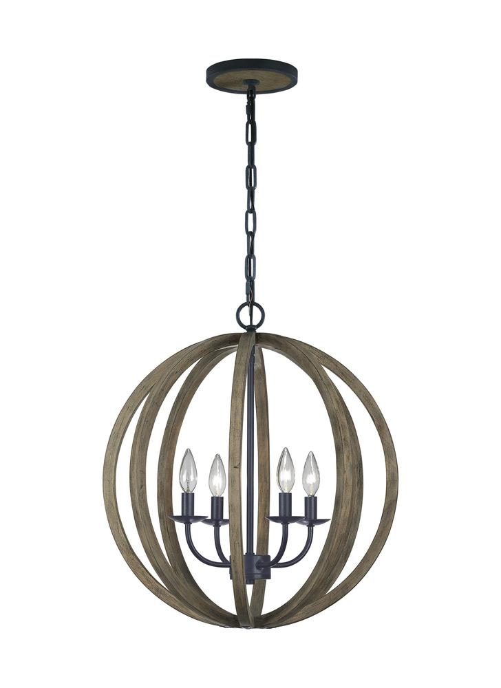 FEI F2935/4WOW/AF 4 - Light Pendant 5X60Candelabra