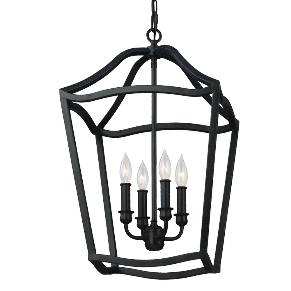 FEI F2975/4AF 4 - Light Foyer 4X60Candelabra