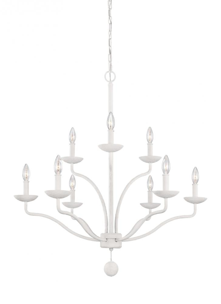 FEI F3131/9PSW 9 - Light Chandelier 3X60Candelabra