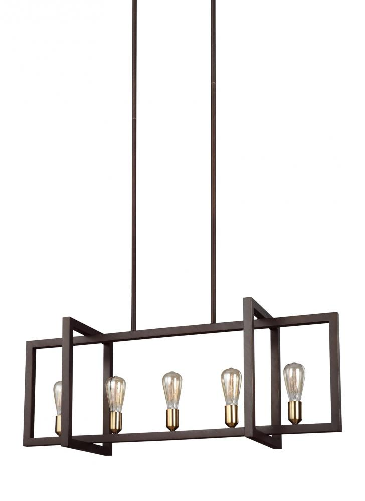 FEI F3147/5NWB 5 - Light Island Chandelier 7X60Medium
