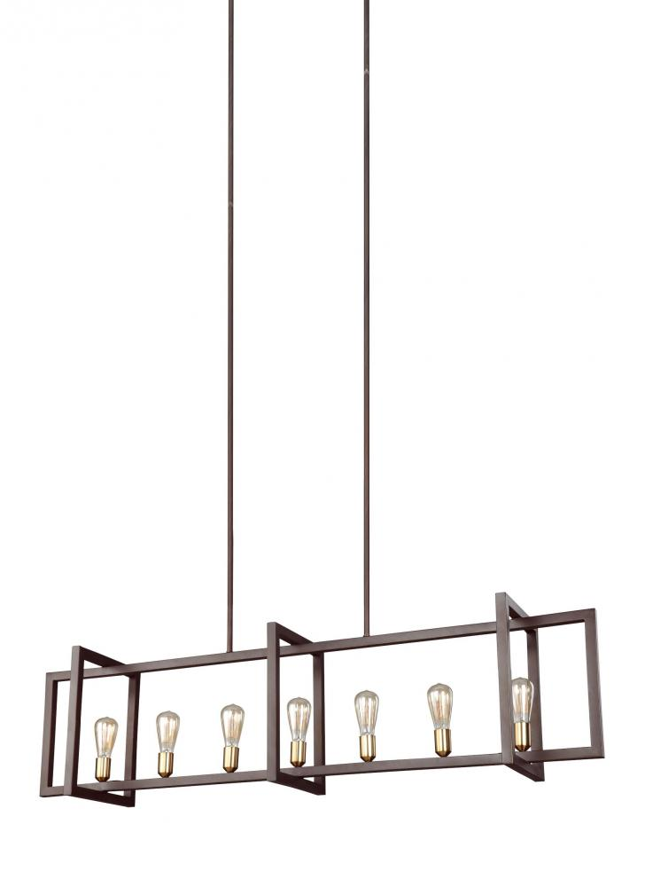 FEI F3148/7NWB 7 - Light Island Chandelier 1X60Medium