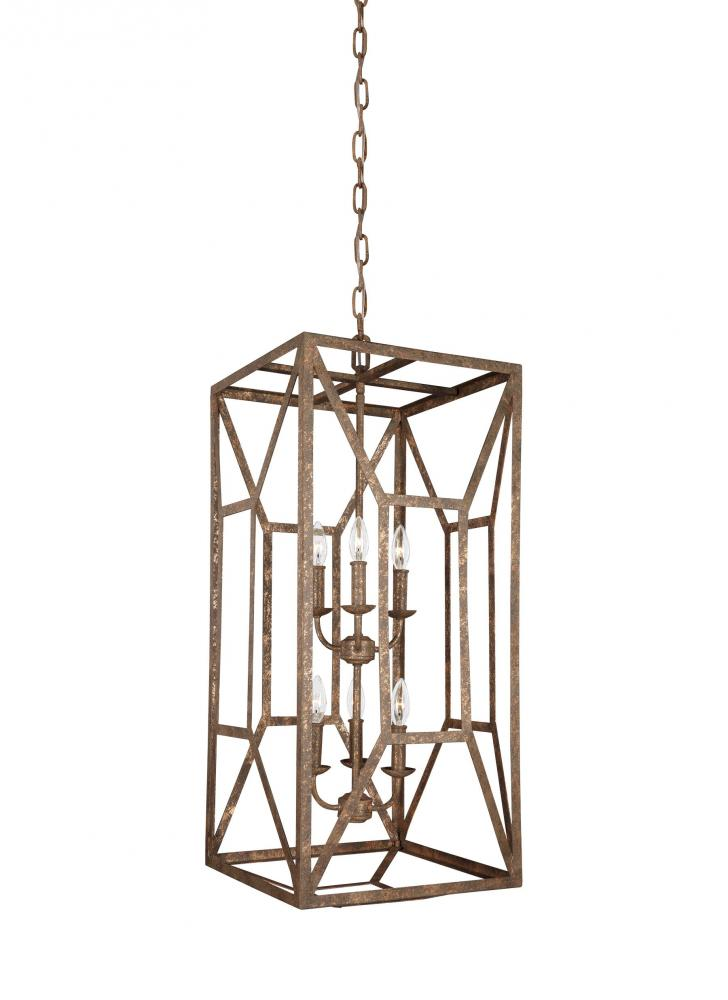 FEI F3174/6DSGL 6 - Light Foyer Chandelier 6X60Candelabra