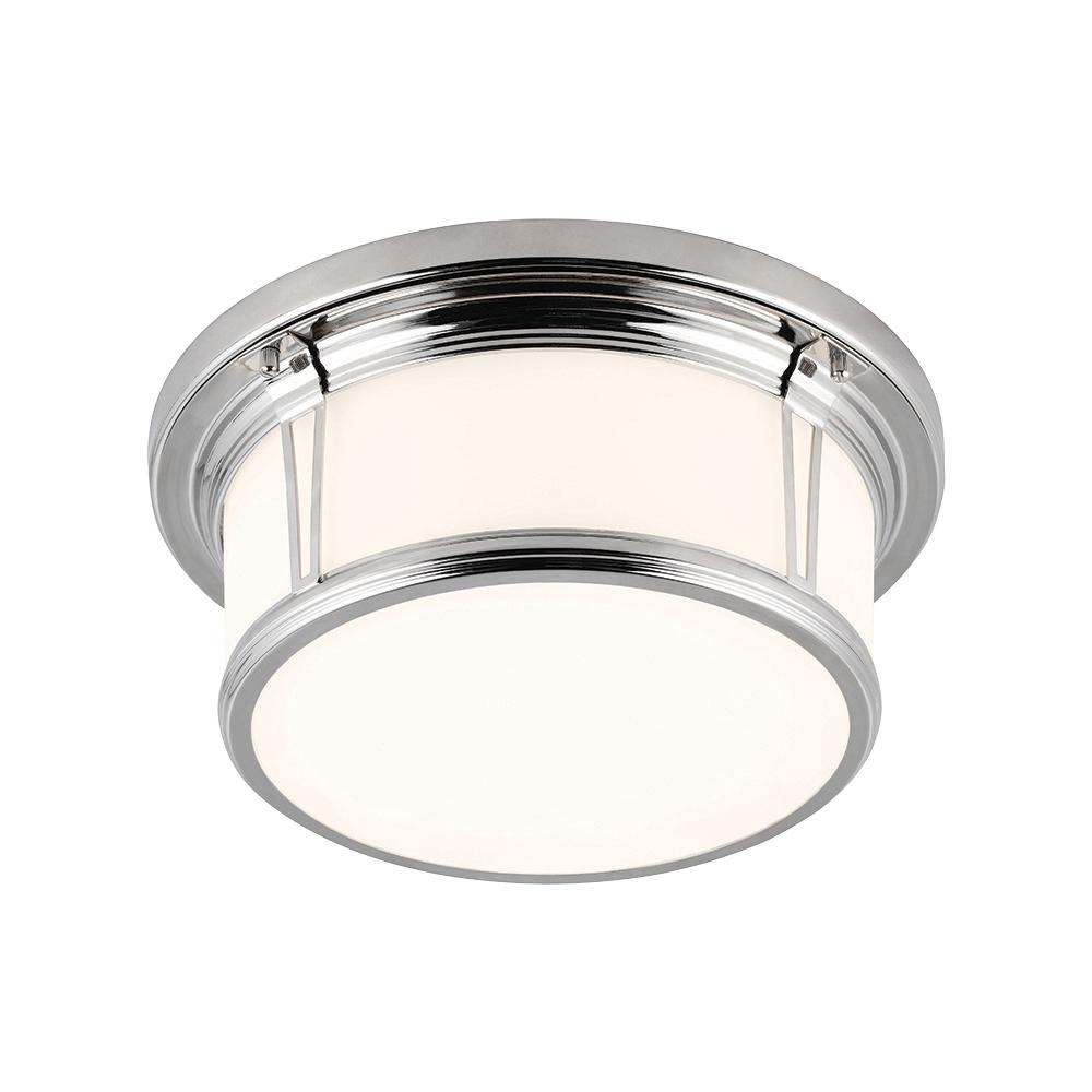 FEI FM388PN 2X75M Polished Nickel Woodward Ceiling Light *** RED TAG ITEM *** $128