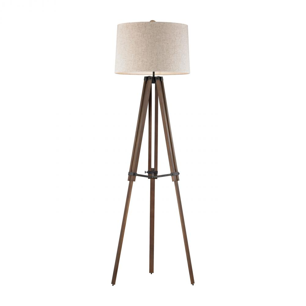 ELK D2817 1-150M 3-WAY WOODEN TRIPOD LAMP