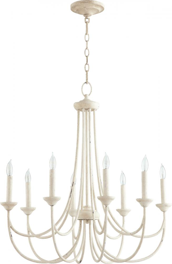 QRM 6250-8-70 BROOKS 8LT CAND CHAND -PW 8X60Candelabra