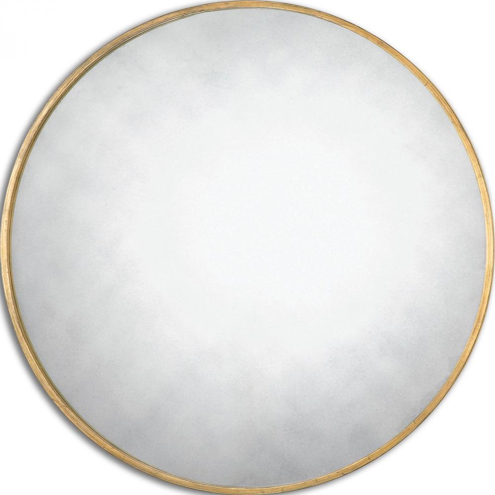 UTT 13887 Junius Round Gold Mirror