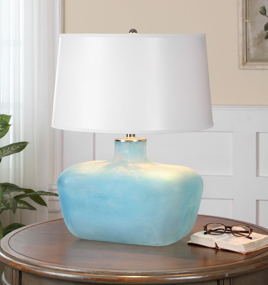UTT 26231 One Light Nickel Table Lamp 1X150M