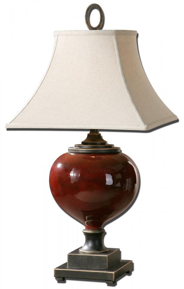 UTT 26855 One Light Dark Bronze Table Lamp 1X150M
