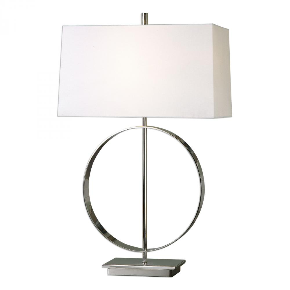 UTT 27153-1 Addison 1Lt Polished Nickel Lamp 29