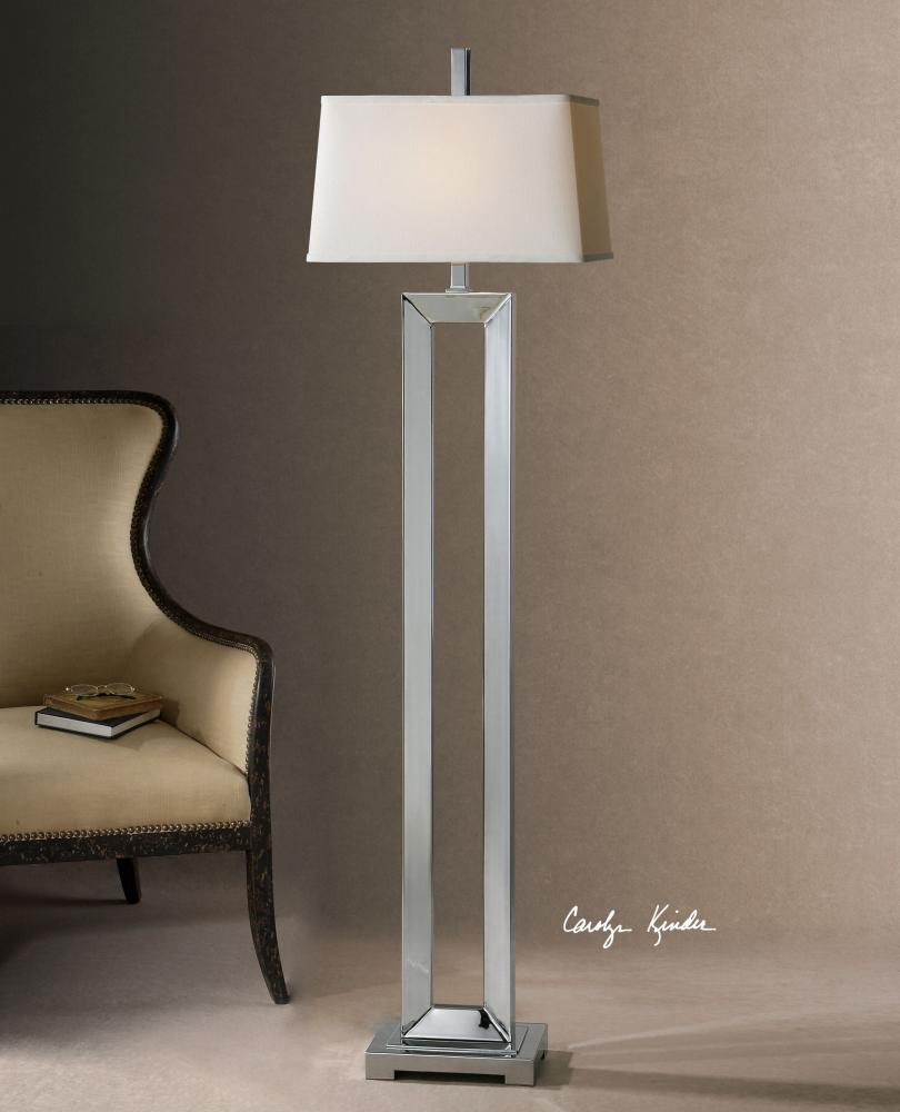 UTT 28595 One Light Plated Polished Chrome Floor Lamp 1X150