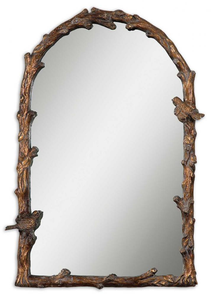 UTT 13774 Paza Antique Gold Arch Mirror