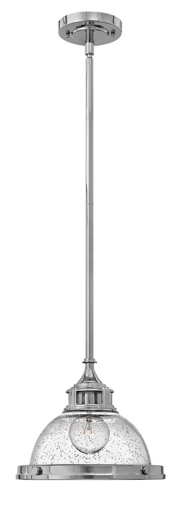 HIN 3123CM Amelia 1Lt Chrome Pendant 11.5