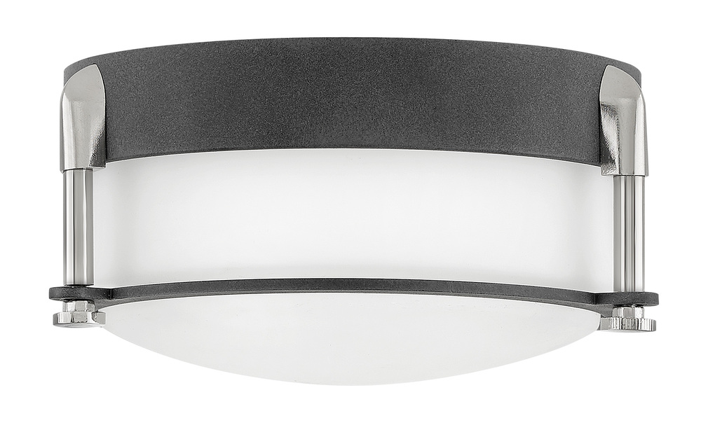 "HIN 3230DZ Foyer Colbin AGED ZINC 7""W X 3.25""H 16W LED INCLUDED"