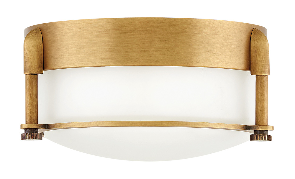 "HIN 3230HB Foyer Colbin HERITAGE BRASS 7""X 3.25""H 16W LED INCLUDED"