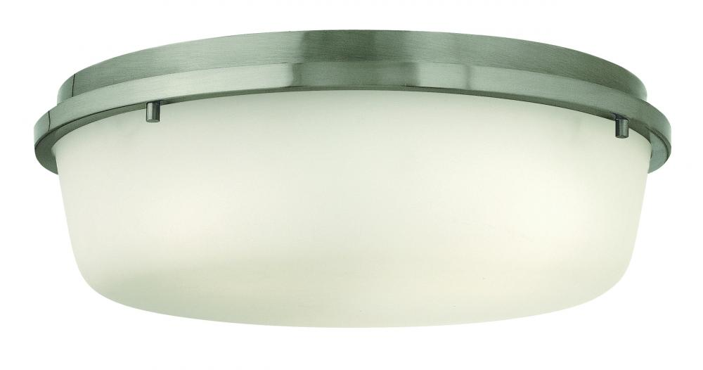 HIN 3852BN 3LT Turner Ceiling fixture 3X60Medium