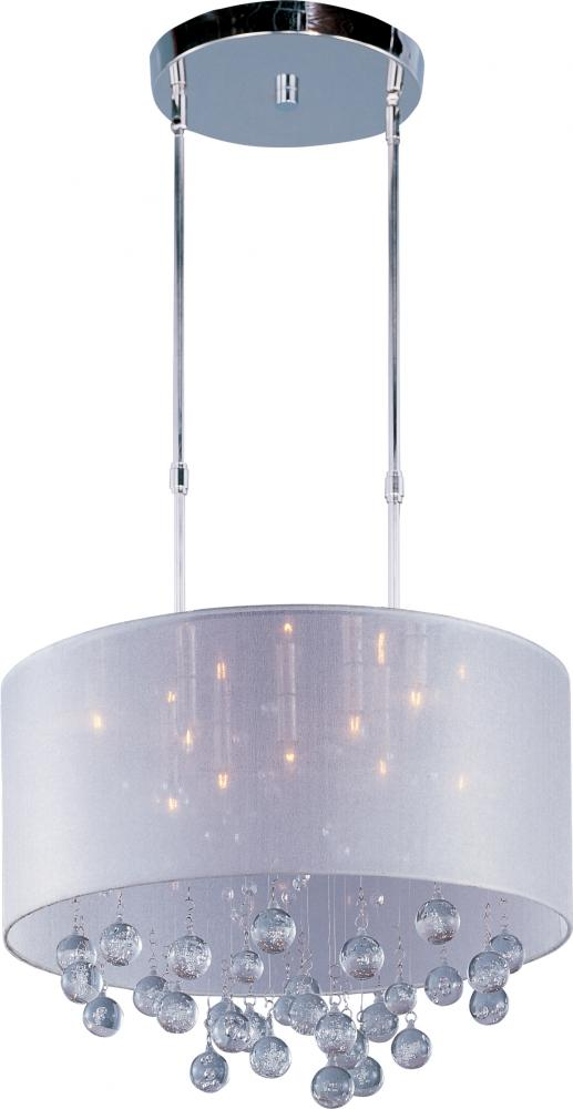 ET2 E22385-120PC Veil 9-Light Round Pendant 9X40G9 Xenon Polished Chrome NEWSTOCK MAY 2019